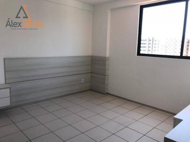 Apartamento com 3 dormitórios à venda, 126 m² por r$ 680.000 - jatiúca - maceió/al - Foto 11