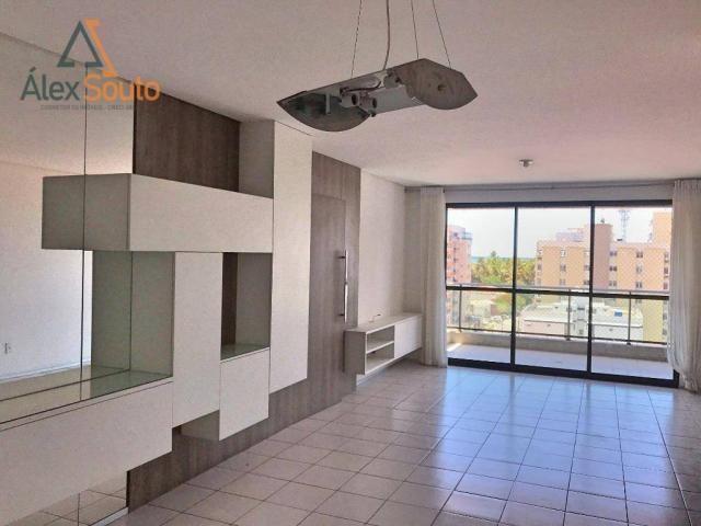 Apartamento com 3 dormitórios à venda, 126 m² por r$ 680.000 - jatiúca - maceió/al