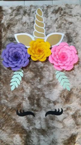 Flores / Flor de papel - Foto 6