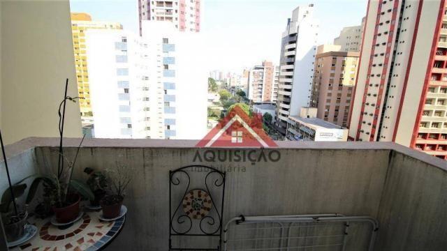 Apartamento com 3 dormitórios à venda, 87 m² por R$ 369.990,00 - Bigorrilho - Curitiba/PR - Foto 17
