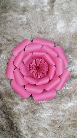 Flores / Flor de papel - Foto 4