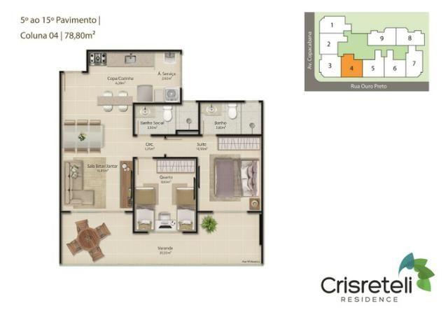 Lançamento apartamentos de 2 quartos na Praia do Morro