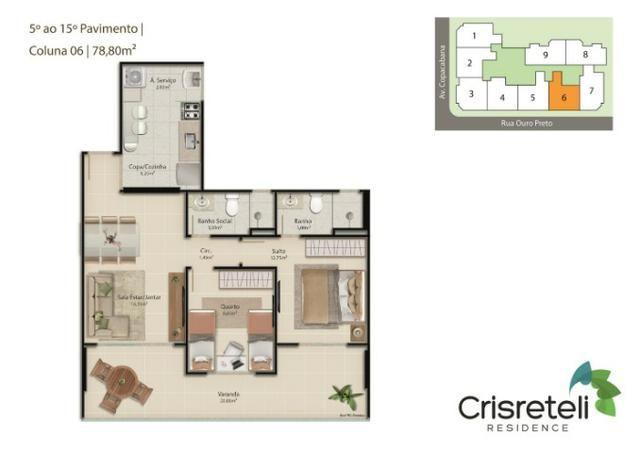 Lançamento apartamentos de 2 quartos na Praia do Morro - Foto 8