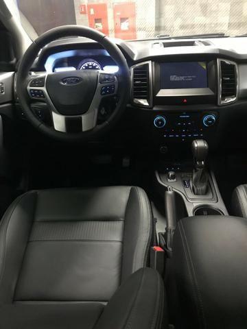 Ford Ranger Cab Dupla XLT 3.2 4x4 AUT - Diesel 2020 0KM - Polyanne * - Foto 9