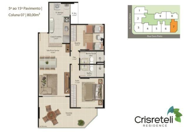 Lançamento apartamentos de 2 quartos na Praia do Morro - Foto 9