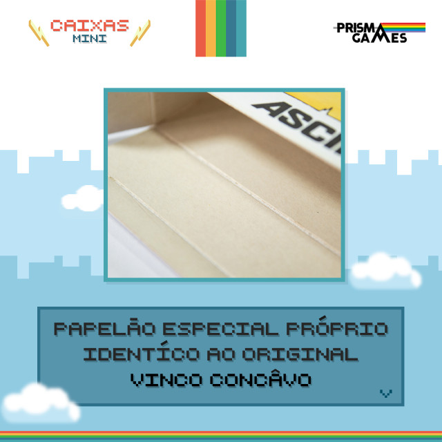 Caixa Mini Para Jogos - Atari 2600 - Foto 2