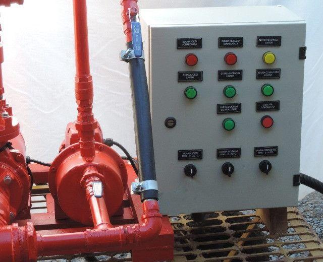 Chave Estrela-Triangulo, para compressores, bombas e bombas de incêndio - Foto 4