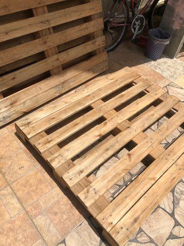 Pallet madeira rígida