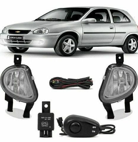 Kit Farol de Milha Classic Chevrolet