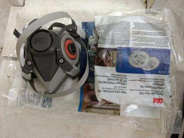 Respirador semi facial 3M 6200 100,00 cal - Foto 2