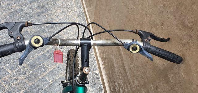 Bicicleta - aro 20 - semi-nova - marca zummi - oportunidade unica - Foto 5