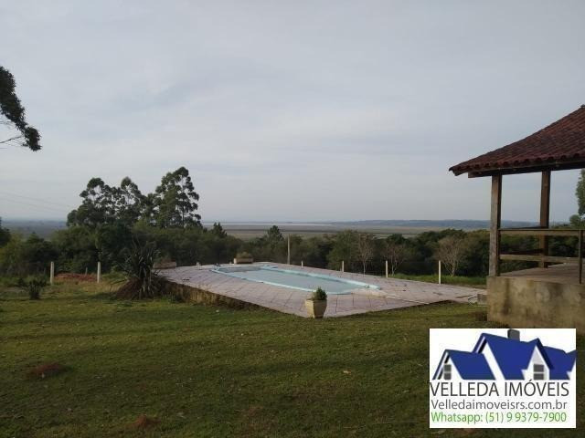 Velleda of. sítio 3,9 hectares, vista magnífica, casa, piscina - Foto 4