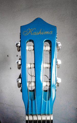 Violão Kashima azul (tamanho médio) - Foto 5