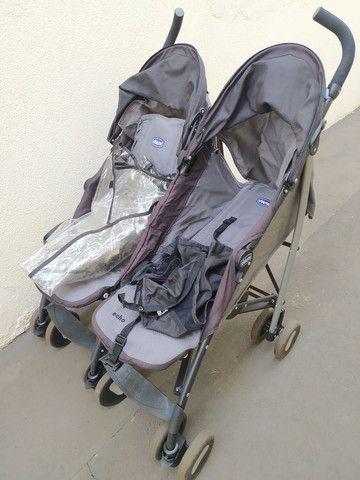 Carrinho bebê gêmeos - Foto 5