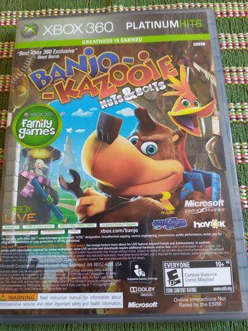 Jogo Original para Vídeo Game Xbox 360 2 em 1 Banjo Kazooie e Viva Pinata