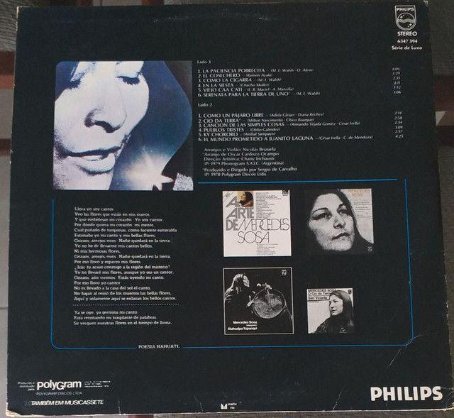 LP Vinil Mercedes Sosa 1979 - Foto 2