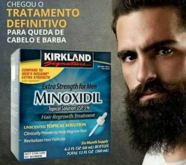 Minoxidil Kirkland aceito cartão , entrega Grátis - Foto 4