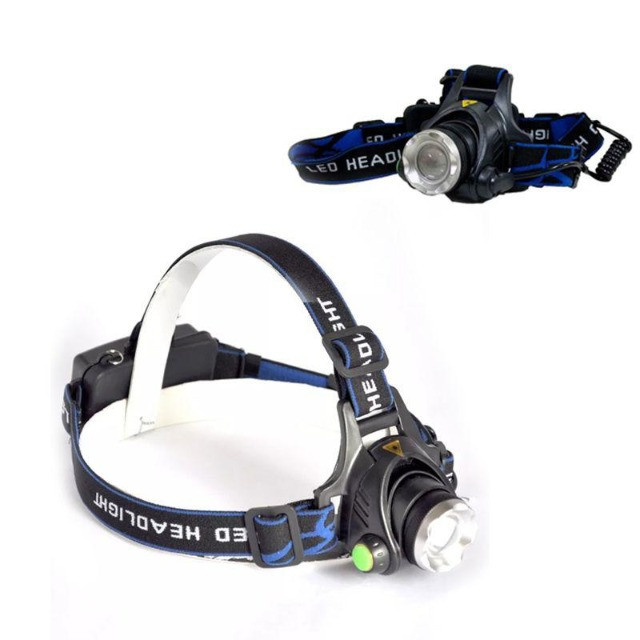 Lanterna De Cabeça Recarregável Com 3 Modos de Iluminação - Foto 2