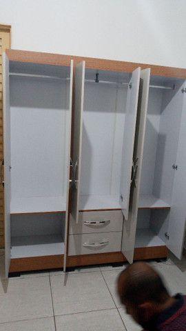 ?PROMOÇÃO GUARDA ROUPA DE CASAL DIRETAMENTE DA FÁBRICA A PARTIR DE 399 REAIS NOVO NA CAIXA - Foto 5