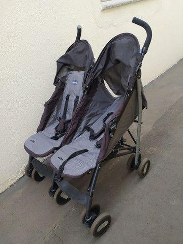 Carrinho bebê gêmeos - Foto 6