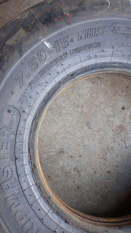 Pneu 7-50-15 Rolo Compressor, Rolo Compactado, Rolo Compressor  - Foto 4
