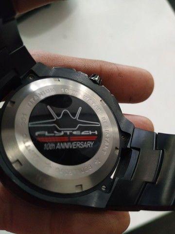 Relógio orient flytech titânio - Foto 3