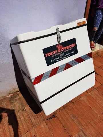 Baú caixa de motoboy bem cuidado - Foto 2
