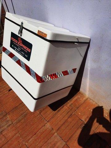 Baú caixa de motoboy bem cuidado - Foto 3