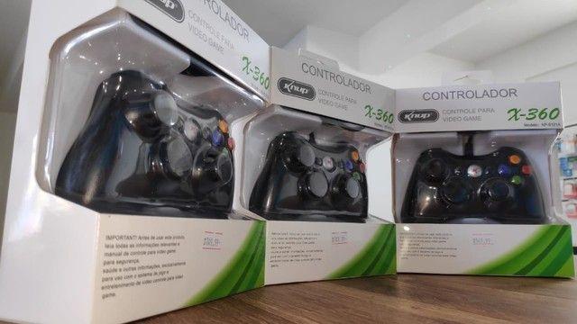 Controle para Xbox 360 e Computador! (Novo com Garantia) - Foto 2