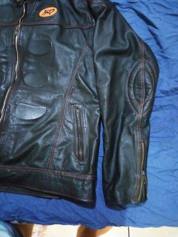 Jaqueta em couro legítimo - Foto 3