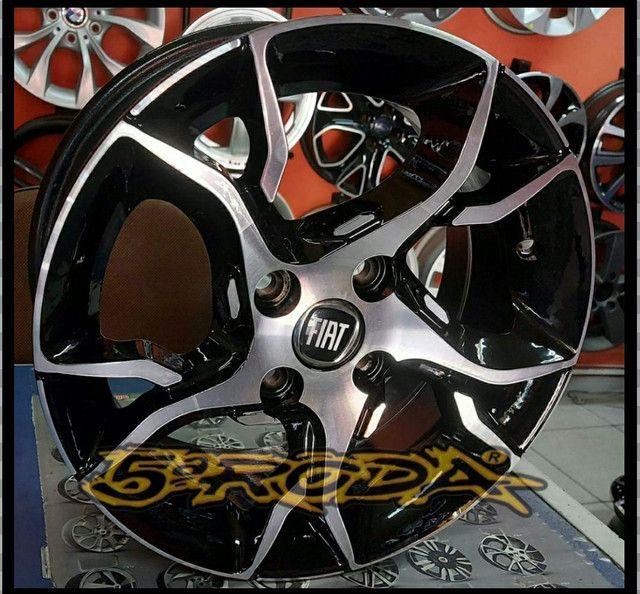 Roda Aro 15 Fiat Argo. - Foto 2