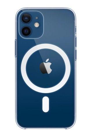 Capa MagSafe IPhone 12 Mini transparente - Foto 2