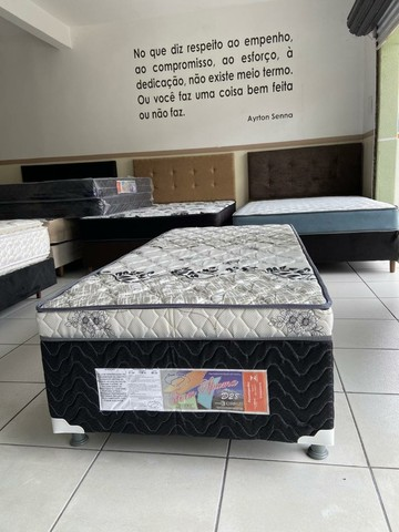 cama solteiro conjugada nova - Foto 4