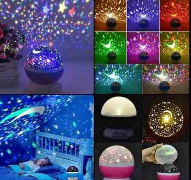 Abajur Luminária Céu Estrelado ????<br><br> - Foto 5