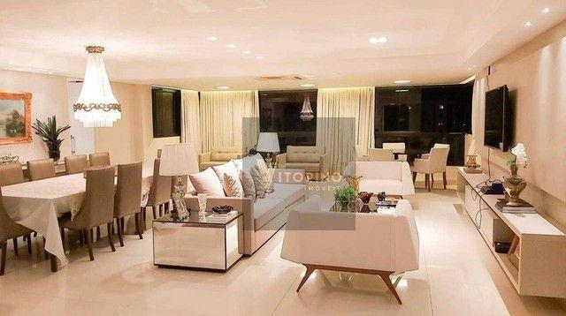 Apartamento com 3 dormitórios para alugar, 290 m² por R$ 7.000,00/mês - Manaíra - João Pes - Foto 7