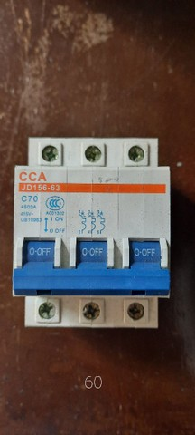 Disjuntores tripolar variados cca LEIA O ANUNCIO - Foto 2