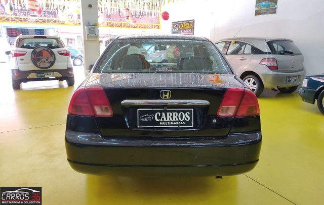Honda civic sedan lx 1.7 16v (aut) - Foto 5