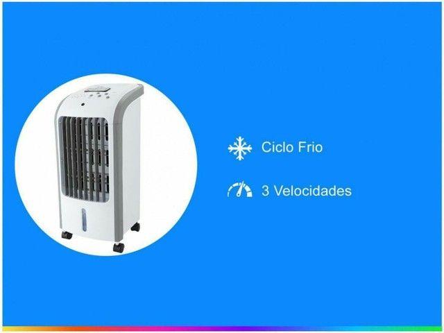 Climatizador Britânia BCL01F Resfria, Umidifica e Ventila 3 Velocidades - Foto 5