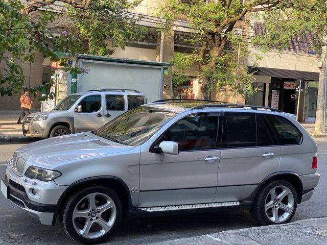 BMW X5 4.4 SPORT  TOP V8 ÚNICO DONO - Foto 3