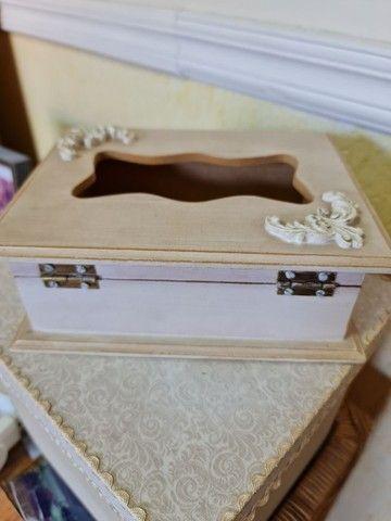 Porta caixa de lenços Novo - Foto 4