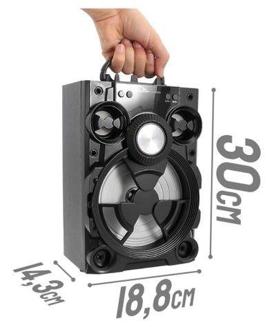 Caixa de Som Alto Falante Potente Bluetooth  - Foto 2