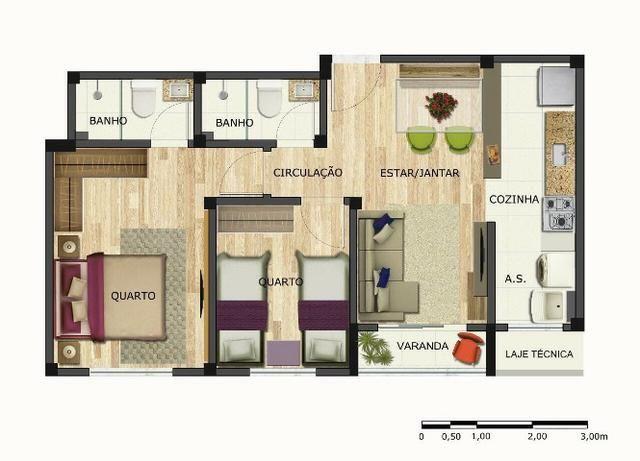 Apartamento com suite e varanda no Paraiso! - Foto 11
