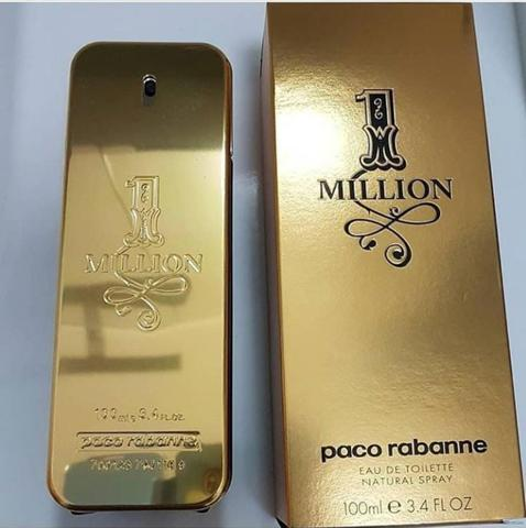 045dd09656 Perfume One Million Masculino Paco Rabanne EDT 100ml 200ml - Beleza ...