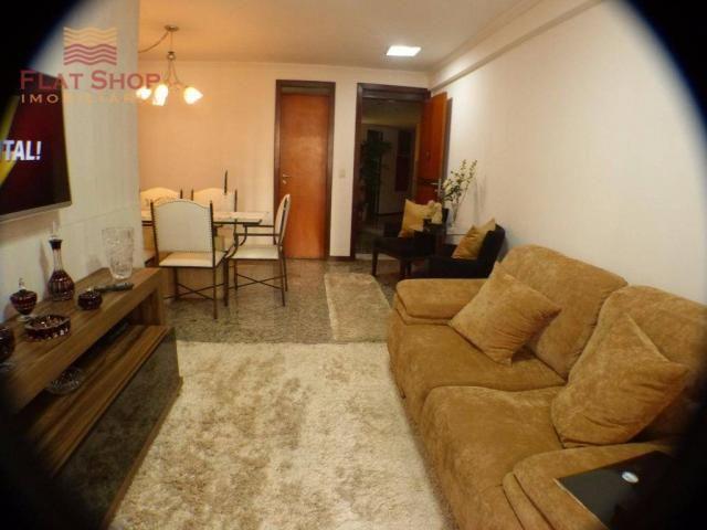 Apartamento residencial à venda, meireles, fortaleza. 3 dormitórios, condomínio com 2 vaga - Foto 2
