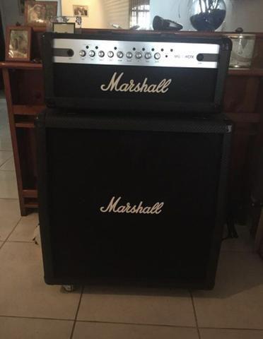 Cabeçote +caixa 4x12 Marshall