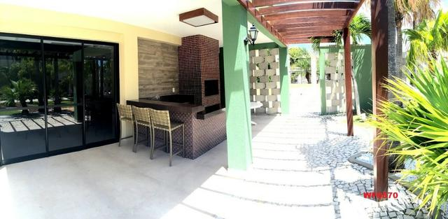 CA0611 Village Del Mare, Casa em condomínio nas dunas, 4 suítes, 3 vagas, bairro de Lourde - Foto 12