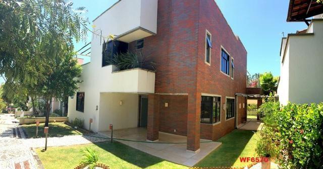CA0611 Village Del Mare, Casa em condomínio nas dunas, 4 suítes, 3 vagas, bairro de Lourde