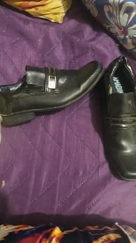 Sapato social infantil masculino