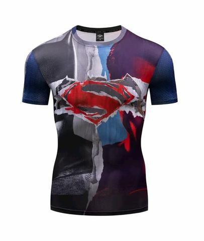 d58c891893862 Camisas 3D Super Heróis Flash Homem Aranha Venom Homem de Ferro Huck ...
