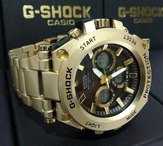509685ec39b Relógio G-Shok Protection - Bijouterias